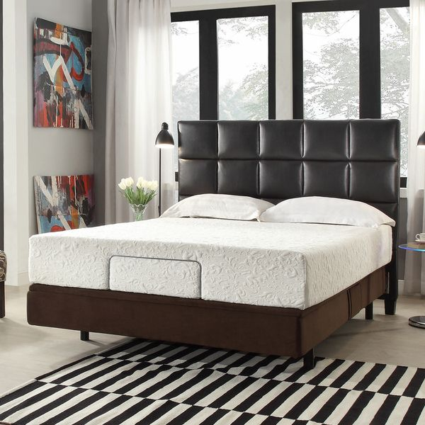INSPIRE Q Toddz Comfort Electric Adjustable Bed Base with Wireless ...