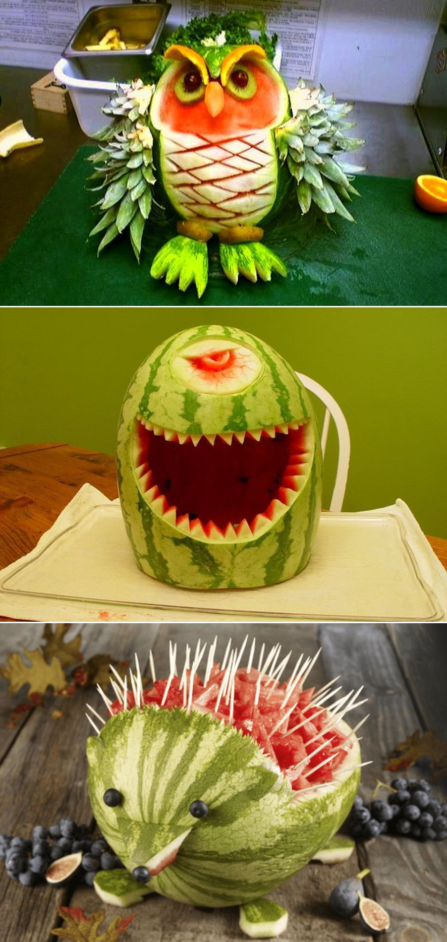 15 Watermelon Carvings to Replace AgeOld Halloween