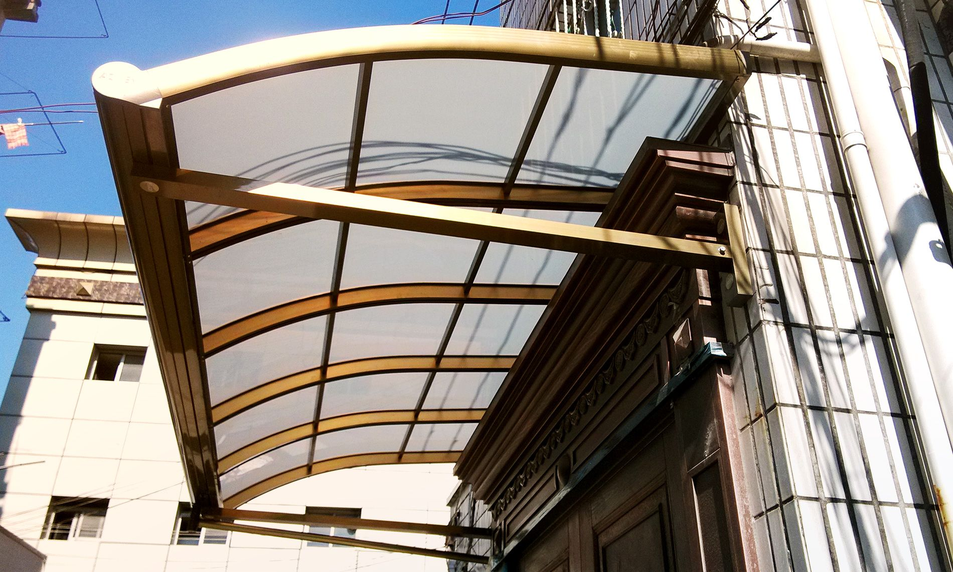Luxury Windows Awning Aluminum Alloy Frame And Poly