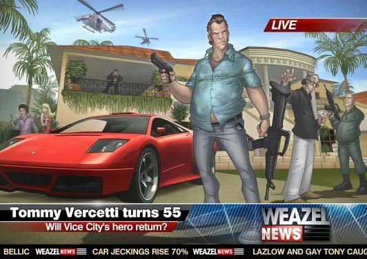Gta Vice City Weazel News Grand Theft Auto Gta Vice