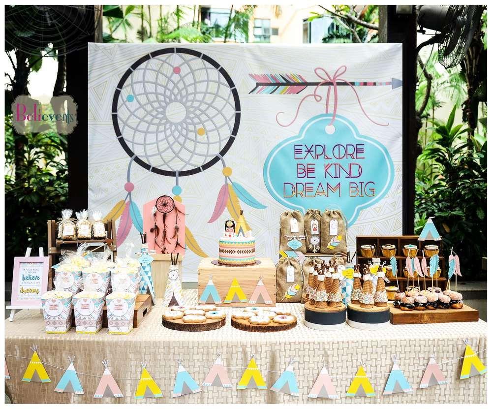 Boho Chic Birthday Party Ideas Kid s Parties