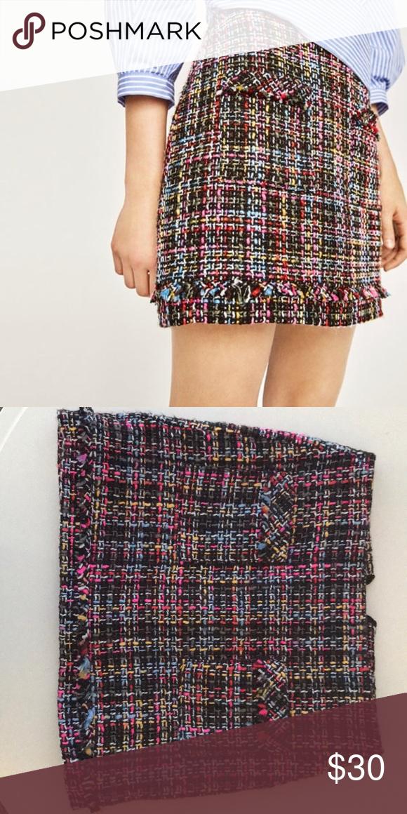 18e51d8e Zara tweed mini skirt Zara tweed mini skirt excellent condition Zara Skirts  Mini
