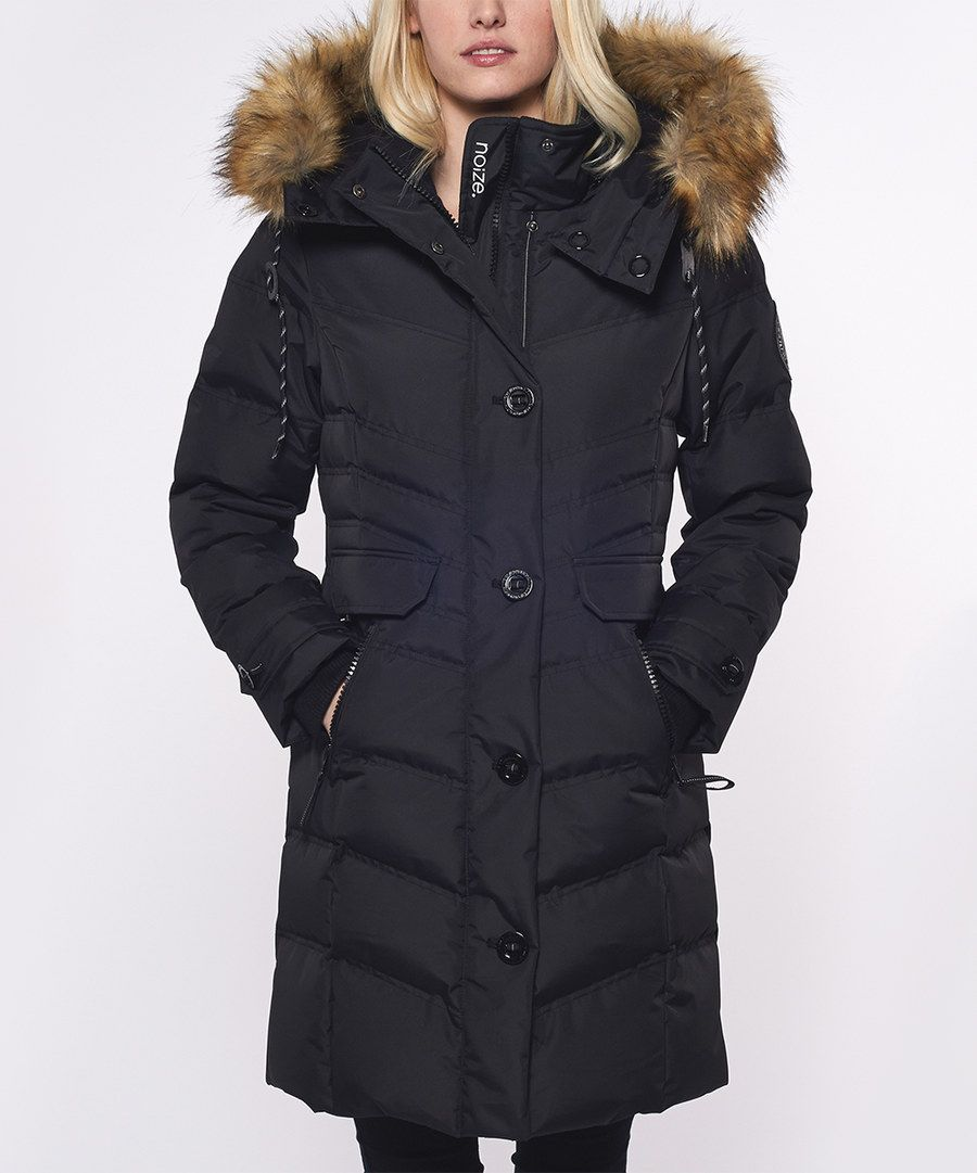 Black Brandy Parka #zulily *cute