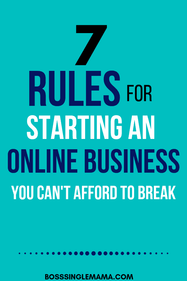7 Rules for Starting an Online Business (That You Can't Afford to Break) is part of Online business, Online business marketing, Success business, Virtual assistant business, Business, Business strategy - Starting an online business is a great way to make money from home  Learn the most important rules to follow for success when you're starting a business online