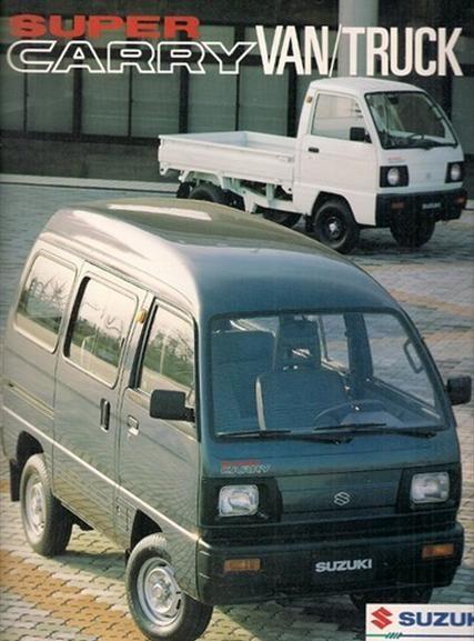1992 Suzuki Super Carry Commercial Tx 1000 5 Speed Mini Trucks Suzuki Suzuki Carry