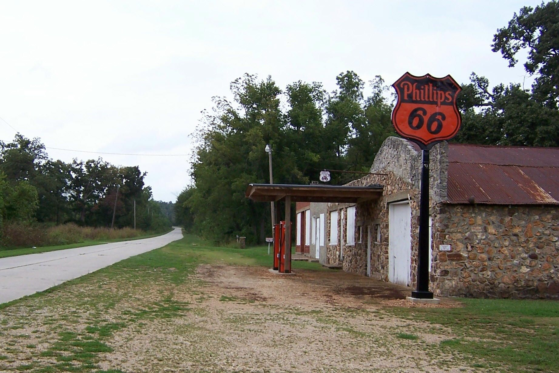 Abandoned Places In . 66 Route