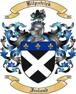 Kilpatrick family crest, Ireland for chris