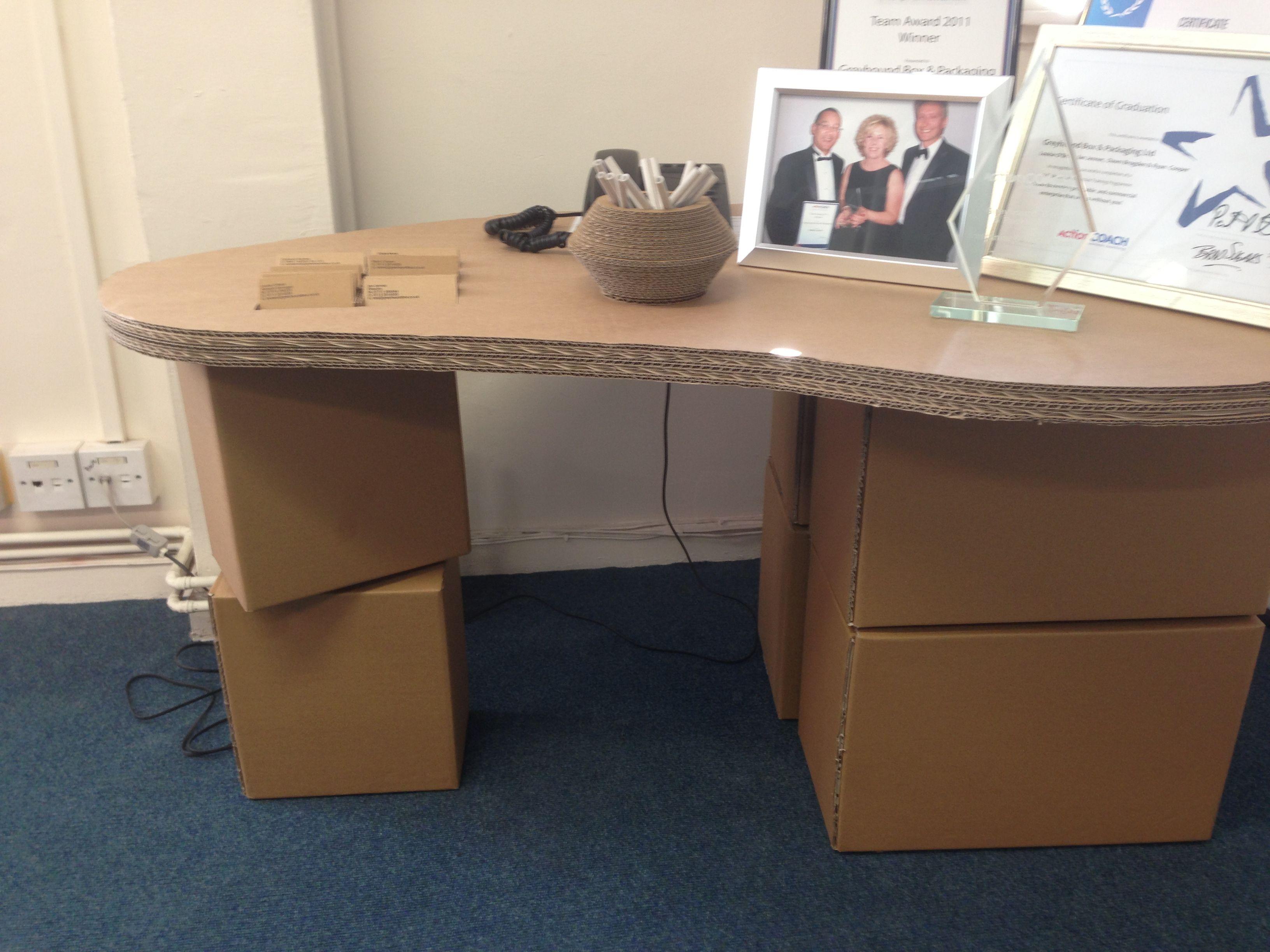 own standing desks your cardboard pin diy desk mac make
