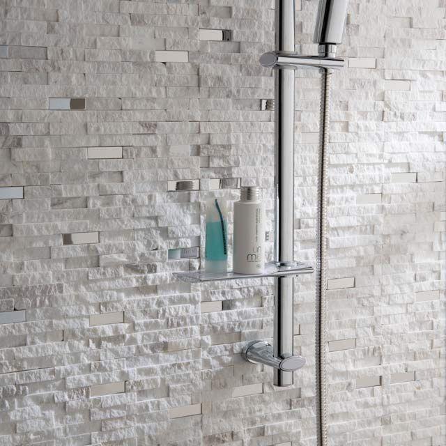 Mosaique Blanche 30 3 X 30 Cm Cuma Castorama Mosaique Blanc
