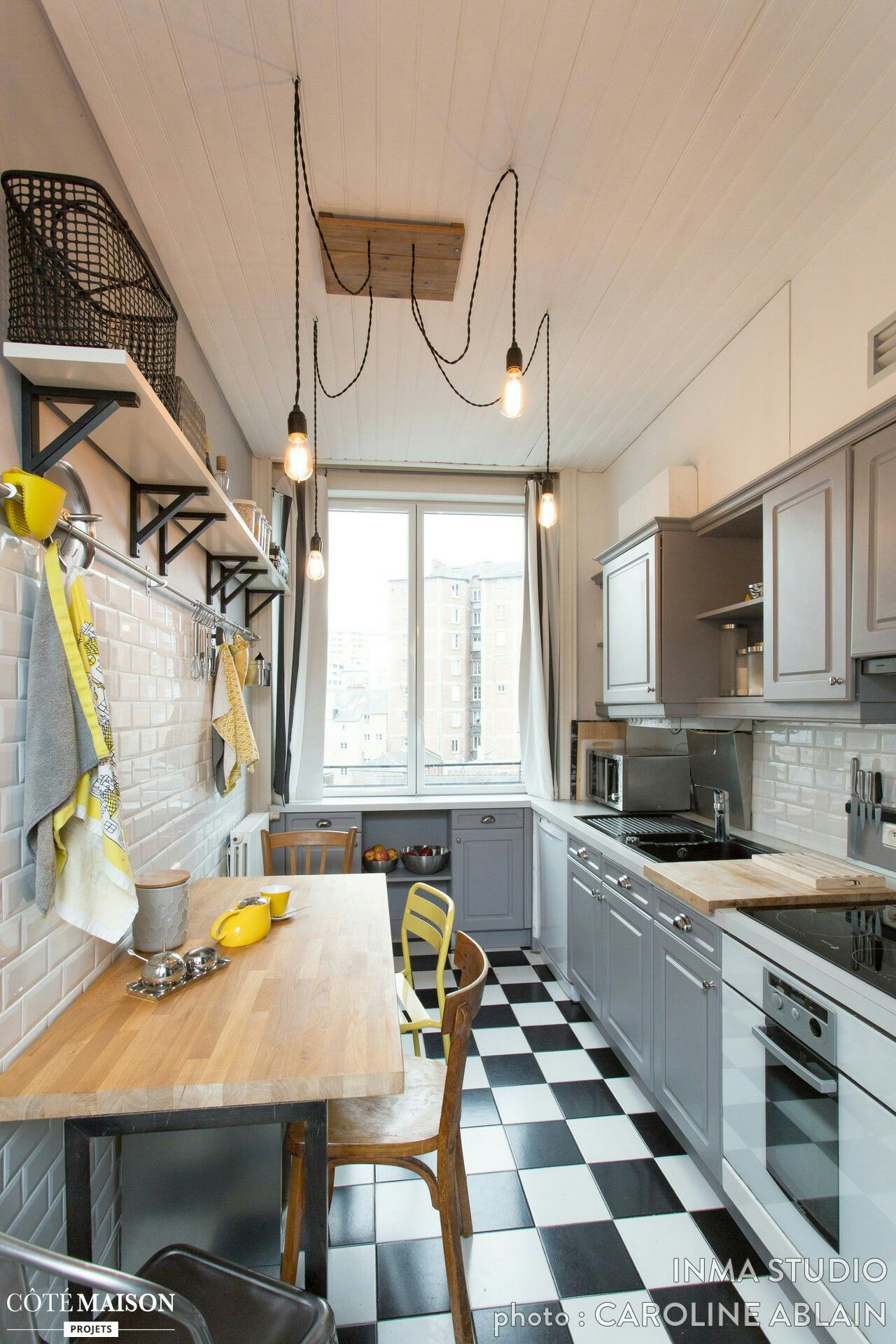 small eat in kitchen | very small homes ideas | pinterest