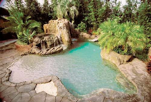 Pool Tropical Landscaping Ideas tropical pool | backyard bliss | pinterest | google images