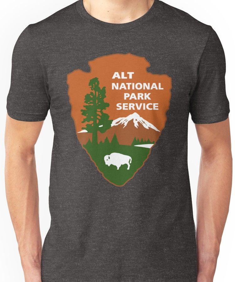 ea3ca3729bb ALT National Park Service Unisex T-Shirt