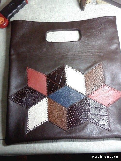 0e4adc5edea0 МК кожаной сумочки... / сумки из кусочков кожи | сумки кошельки ...