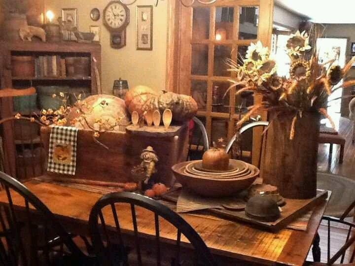 Fall decorating ...~♥~