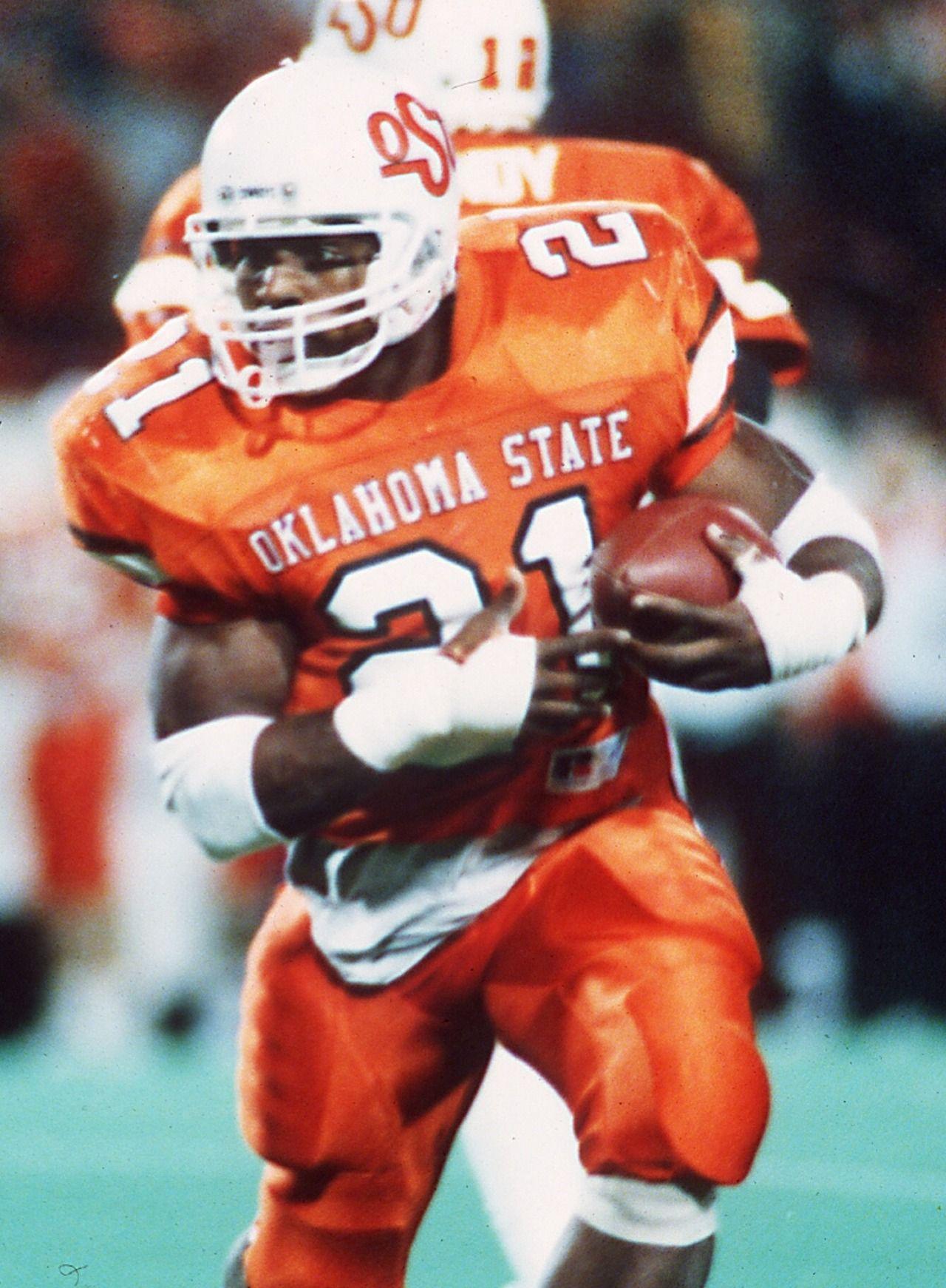 Barry Sanders Oklahoma State Football Ncaa College Football College Football Players