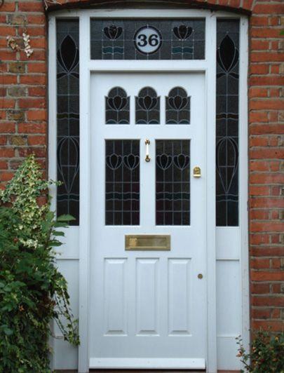 London Doors, Front Door, Victorian / Edwardian Door AS Newbould