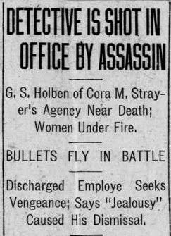 The Adventures of Miss Cora Strayer, Private Detective