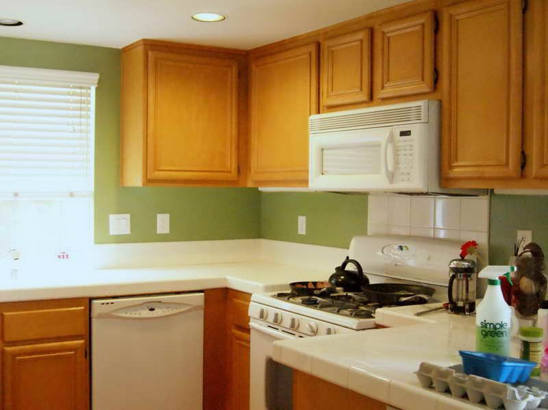 Green Kitchen Paint Colors Google Search