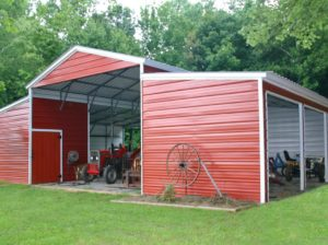 44 x 31 x 12 Vertical Barn Shed building plans, Outdoor
