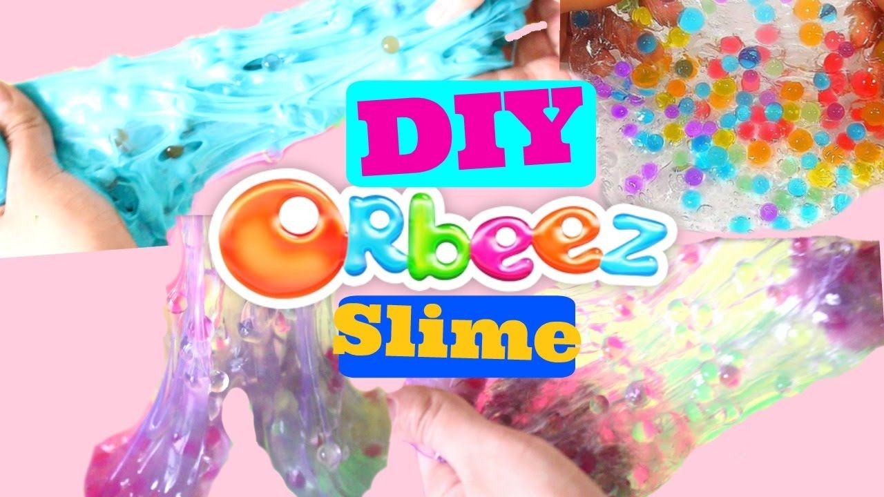 Diy Orbeez Slime How To Make Orbeez Slime Orbeez Slime Diy