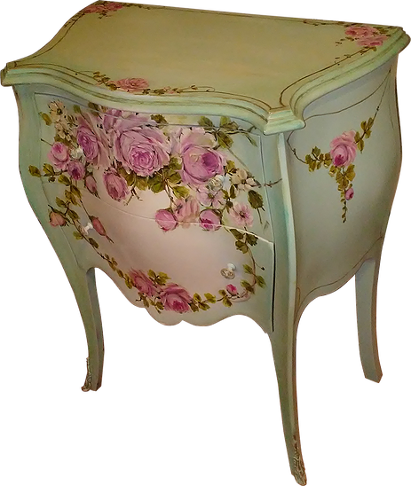 Gorgeous Vintage Bombay Aqua French Nightstand End Table Rosepaintings End Tables Shabby Chic Shabby Chic Furniture