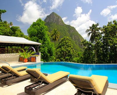 Stonefield Estate Villa Resort, St. Lucia: This exquisite, unplugged St. Lucian resort is an oasis of secluded villas with some of the most dramatic views in the Caribbean. Sound like the ideal setting for rest, romance, and rejuvenation? Mais oui!      www.hideaways.com/stonefield
