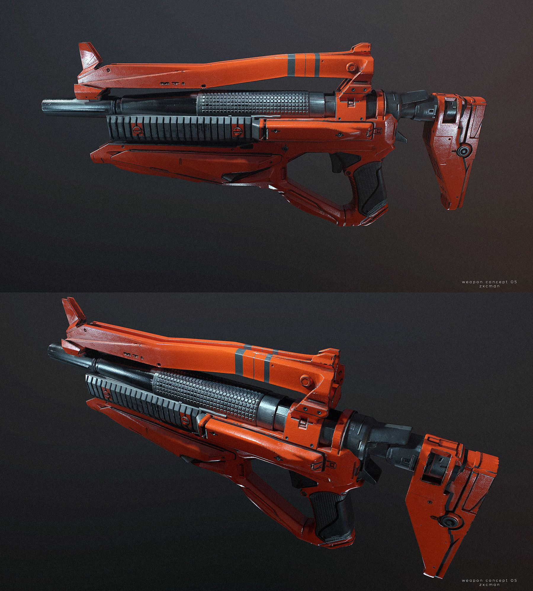 ArtStation - Weapon concepts , Dmitriy Rabochiy