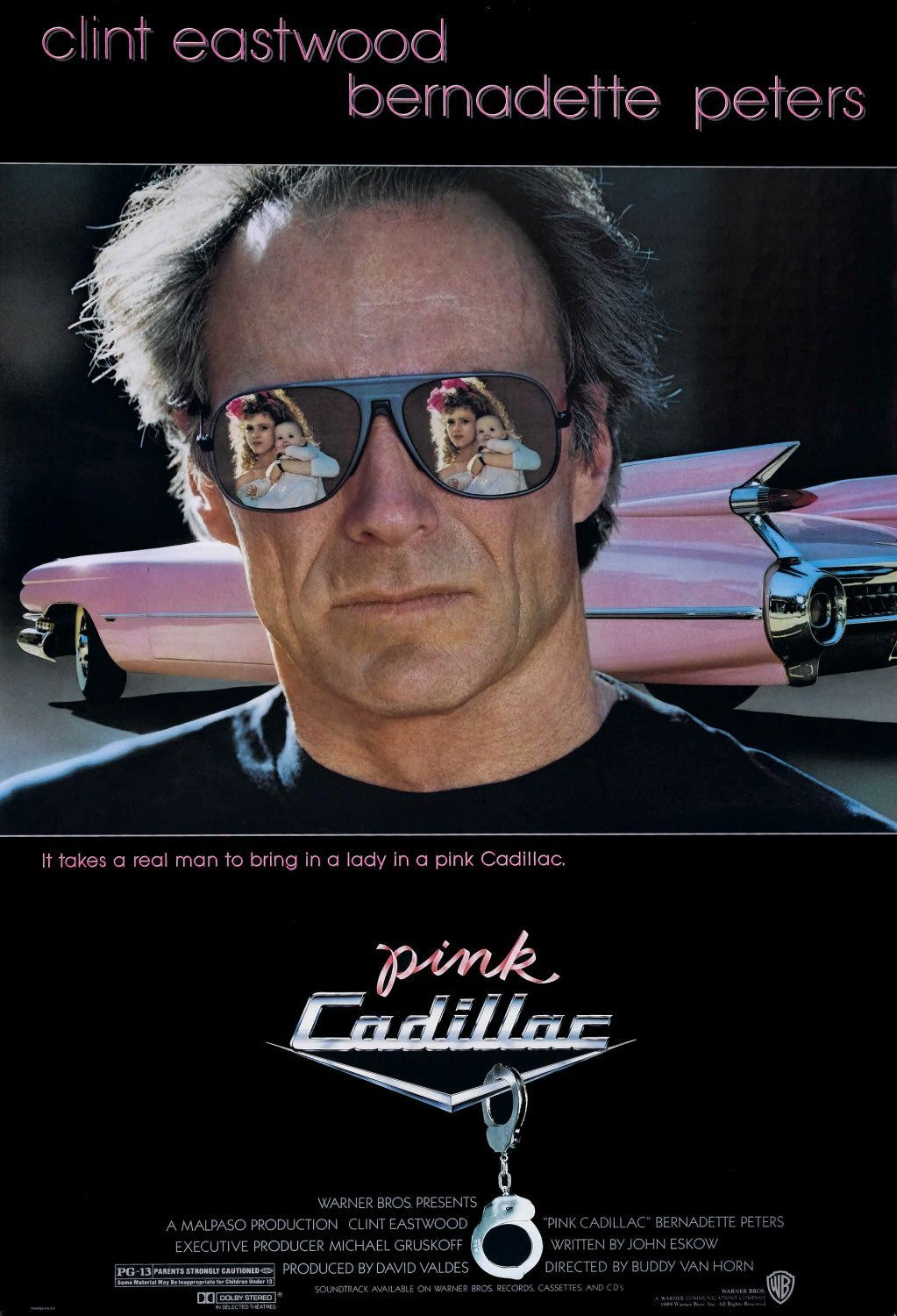 Clint Eastwood. Pink Cadillac