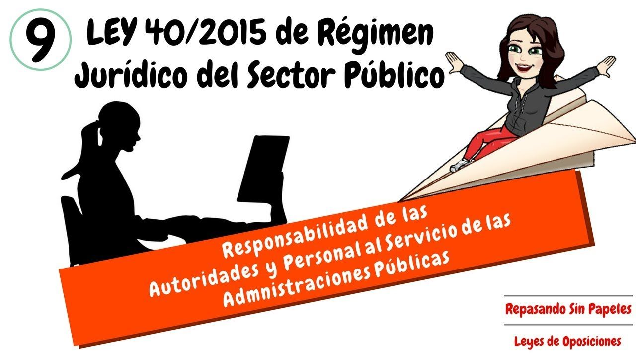 Artículos 36 37 Ley 40 2015 Responsabilidad De Las Autoridades Y Personal Al Servicio De Las Administraciones Públicas Oposicion Juridico Auxilio Judicial