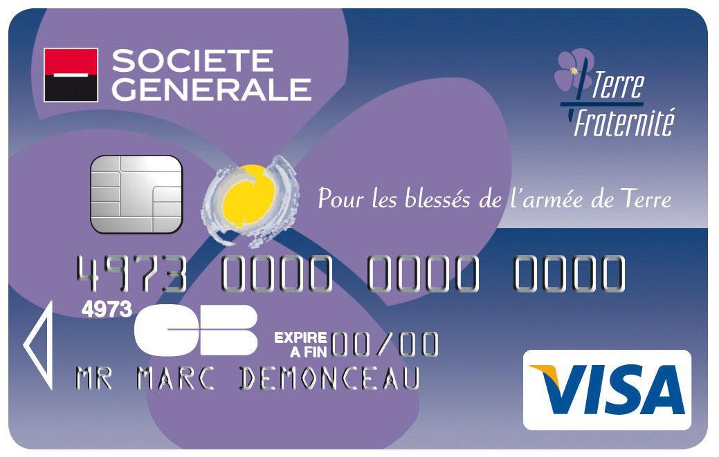 Carte Visa Societe Generale Terre Fraternite Societegenerale