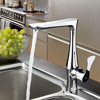 Sprinkle Kitchen Faucets Transitional With Chrome Single Handle