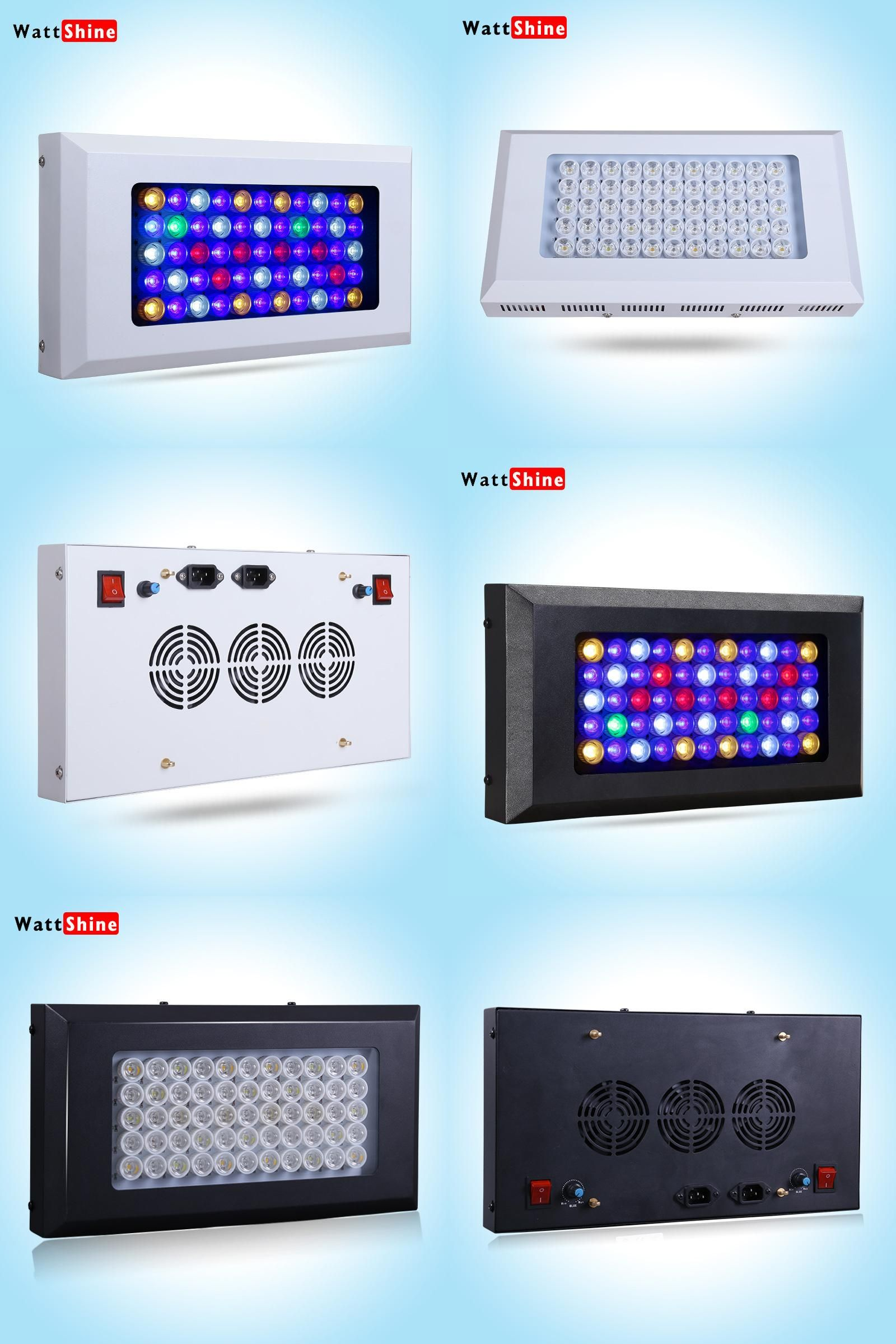 Visit to Buy] Dimmable LED Aquarium Light 165w 6 bands spectrum