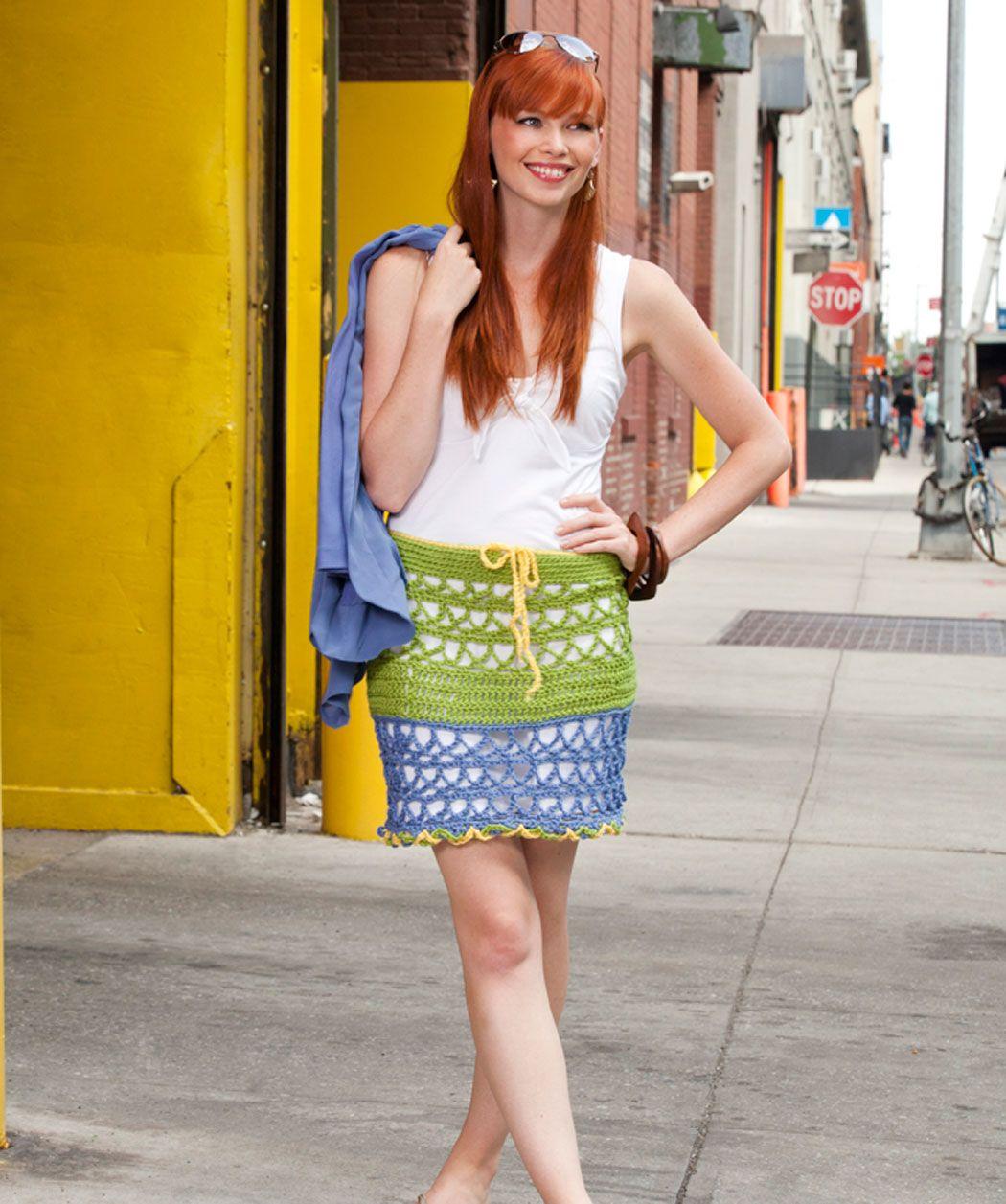Free crochet miami beach skirt pattern free crochet womens free crochet miami beach skirt pattern bankloansurffo Images