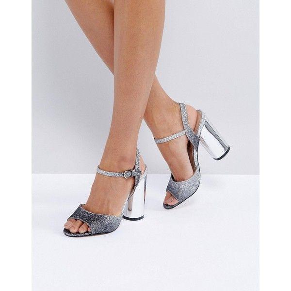 Miss KG Shimmer Embellished Heeled Sandals 4sT71