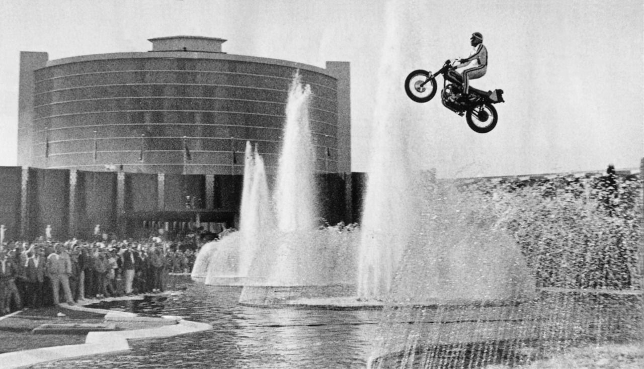Image result for evel knievel caesars palace