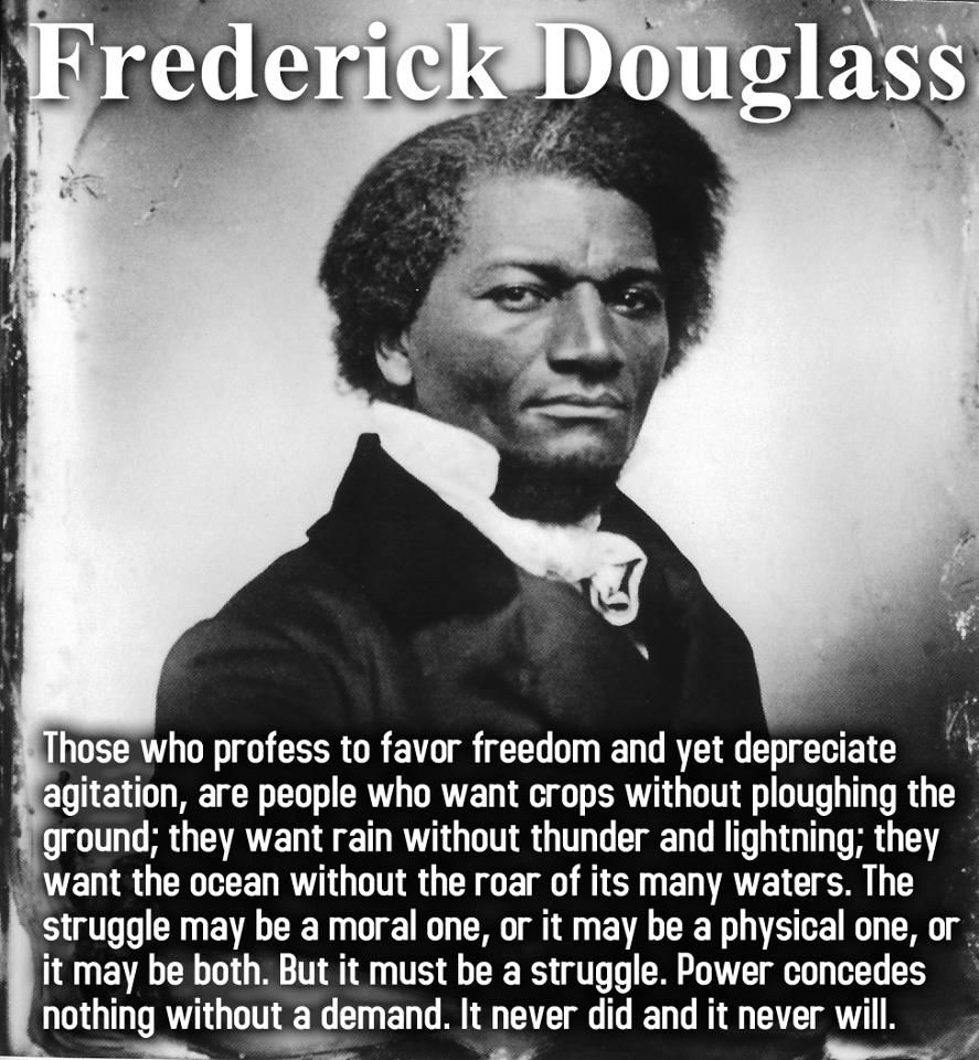 Famous African American Quotes Frederick Douglass  Frederick Douglass  Pinterest  Frederick