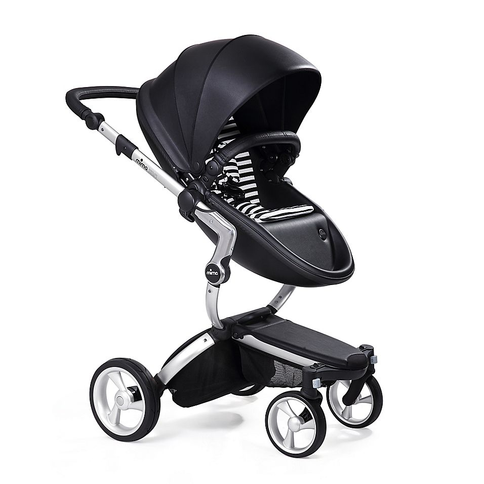 Mima Xari Aluminium Chassis Stroller In Black Stroller