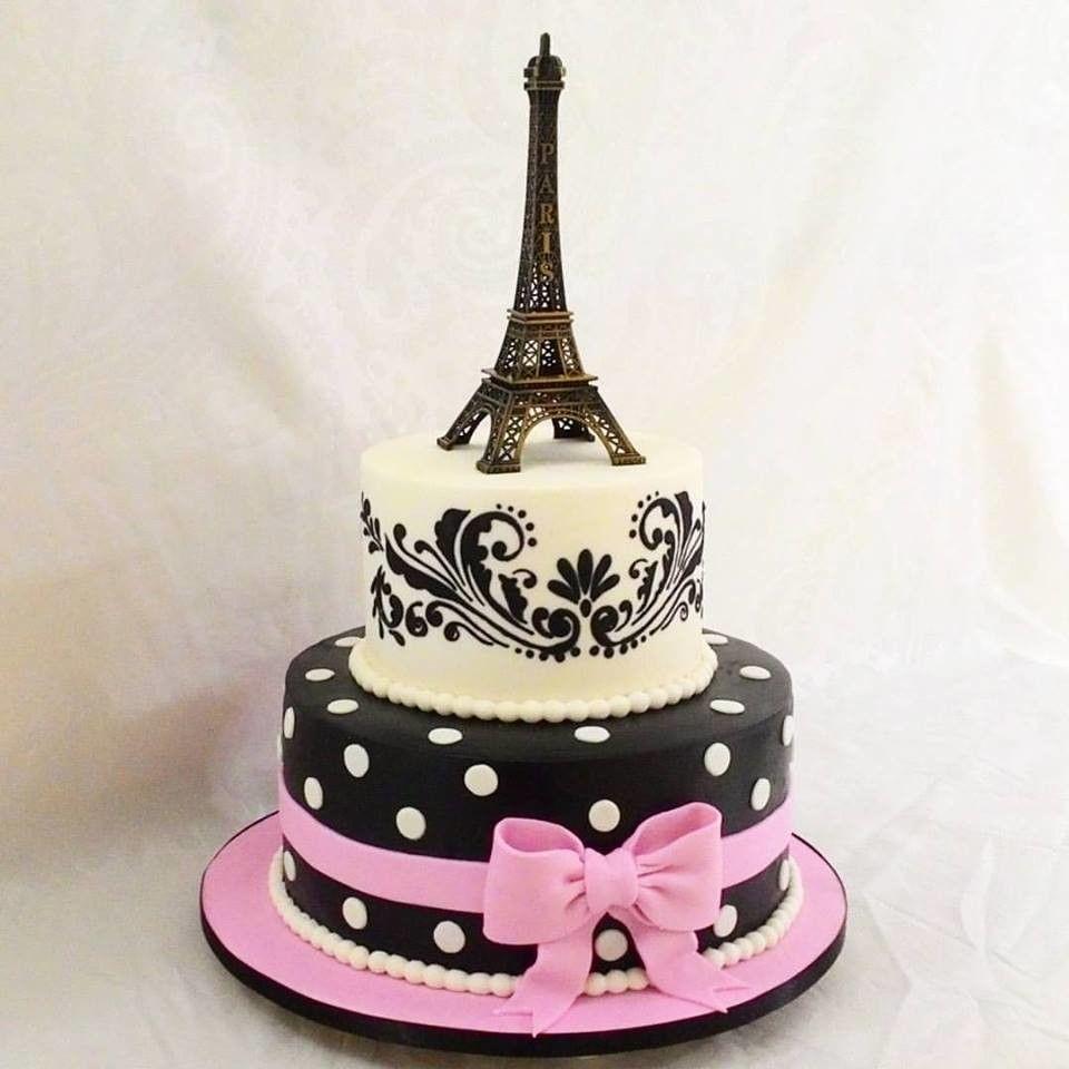 Pin De C B Em Black Pink Bolo Falso Bolos De Aniversario