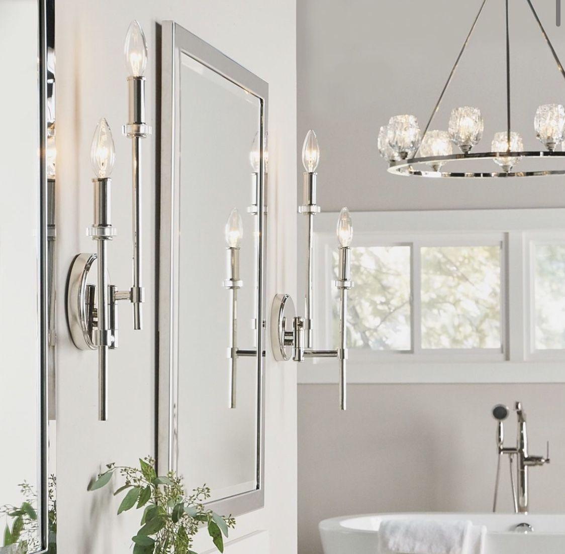 Classic Bathroom Classic Bathroom Elegant Bathroom Wall Sconce Lighting