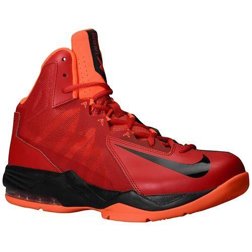 Nike Men's Anthracite Hyper Crimson Black Red Basketball Stutter Step 2 Performance Shoes gym Dirt cheap