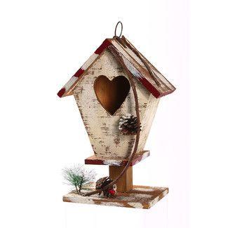Evergreen Enterprises, Inc Winter Love Free Standing Birdhouse