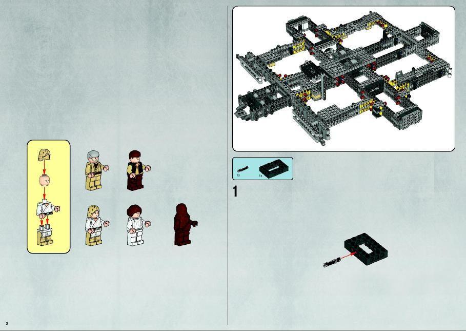 Star Wars Ultimate Millennium Falcon Lego 10179 Proyectos Que