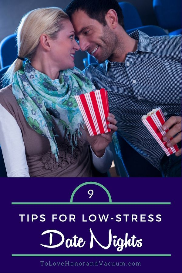 Low Stress Date Nights for Married Couples Because every