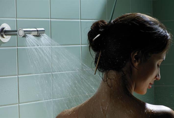 Vola 2281D AP = (Handle NR21) double head shower 080D, | Riversdale ...
