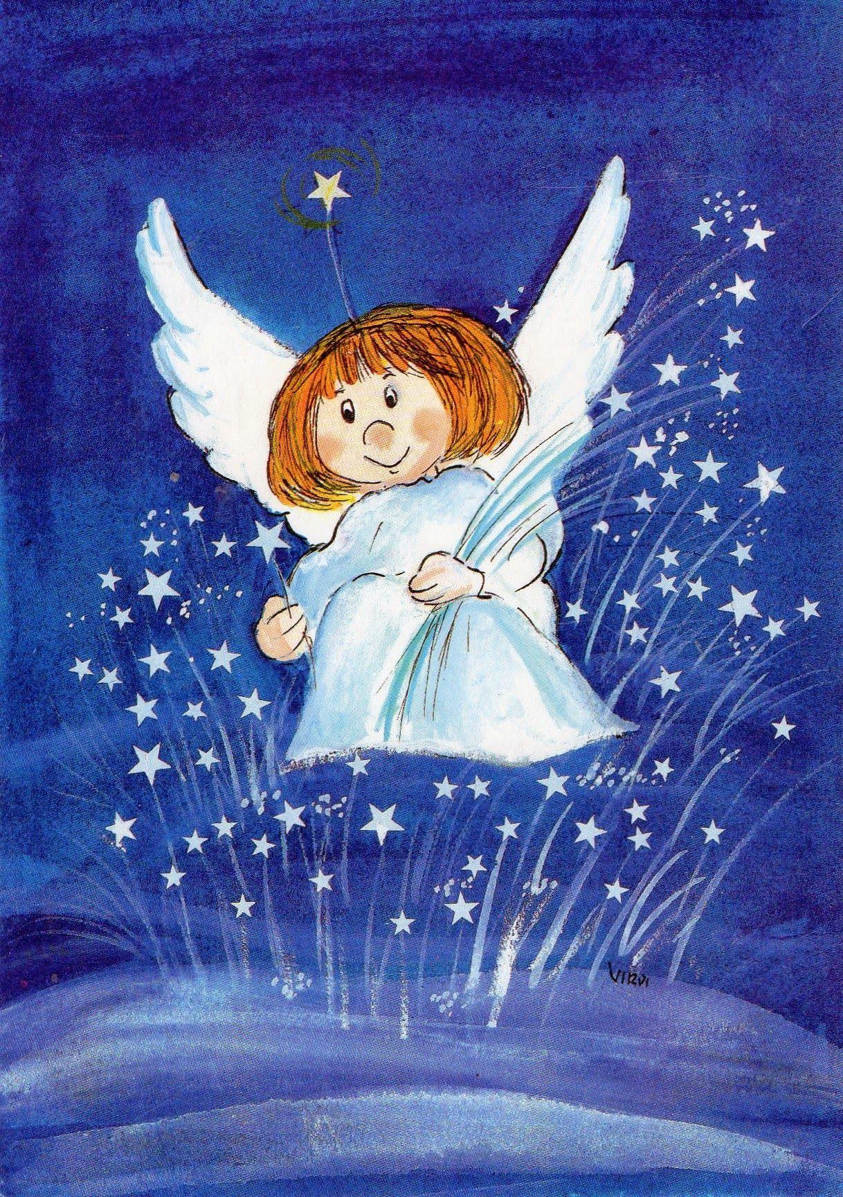 Разрисовки для, рождественская открытка нарисованная детьми