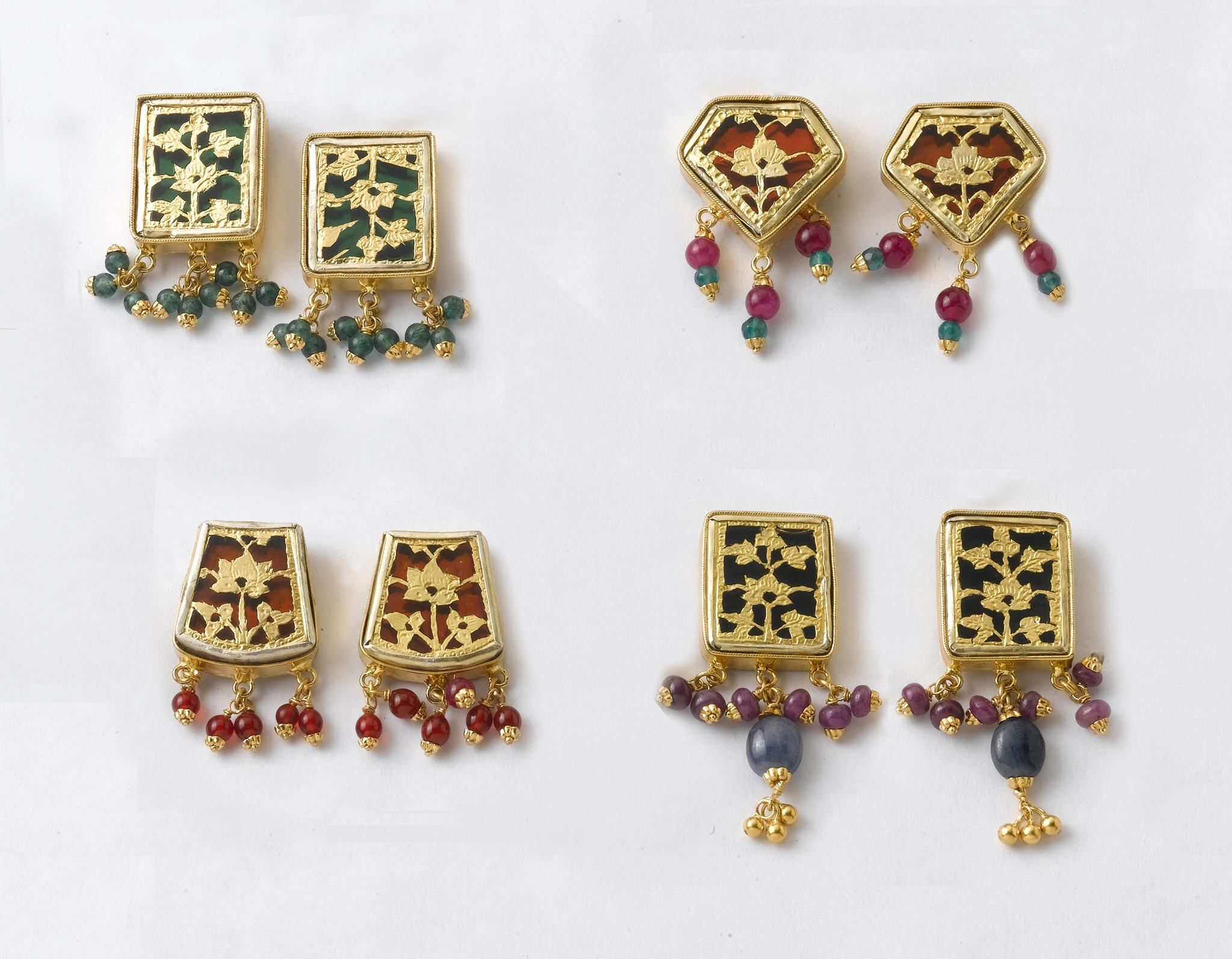 Classic & Traditional | Beautiful gold earrings @ factory prices ...