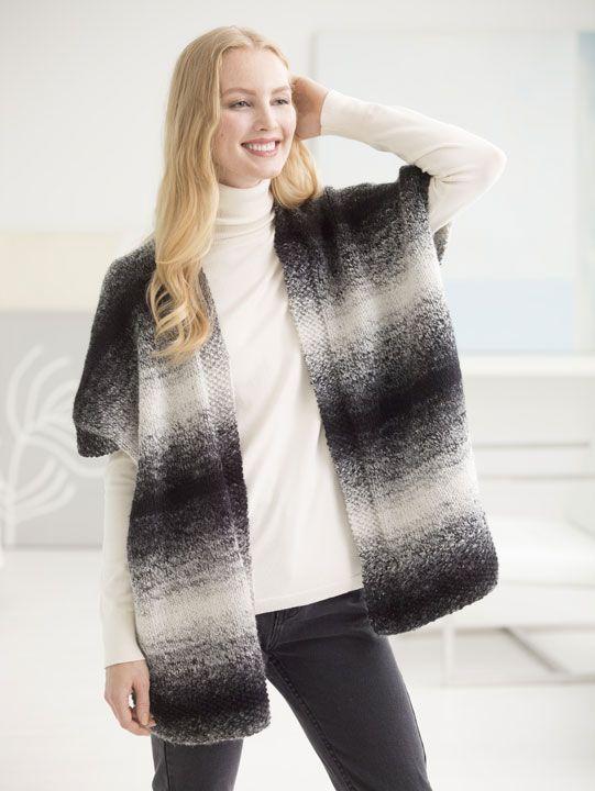 Free Spirit Topper (Ruana) | Loom Knitting | Pinterest | Loom ...