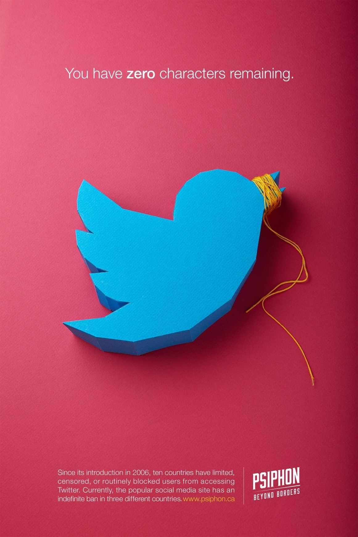 Psiphon Twitter Publicite Intelligente Publicites Creatives