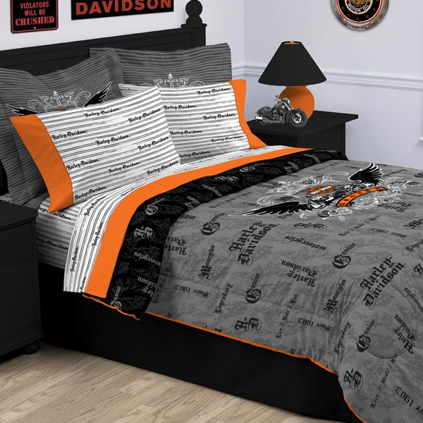 Harley Davidson Bedroom Decor Yahoo Search Results