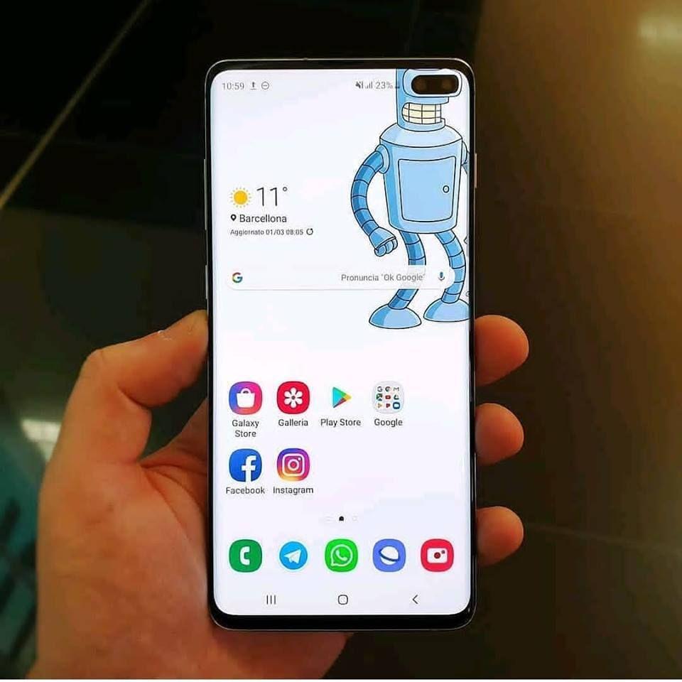 Samsung Galaxy S10 Plus The Next Generation Smartphone Samsung Galaxy Samsung Galaxy Phones Galaxy Home screen samsung galaxy s10 plus